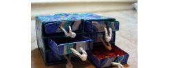 Jak vyrobit z kartonu krabičku na poklady?