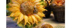 Jak vyrobit dekorativní slunečnici z twist artu?