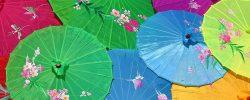 Jak si vyrobit papírový deštník?